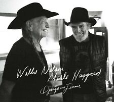 WILLIE & HAGGARD,MERLE NELSON - DJANGO AND JIMMIE  CD NEU