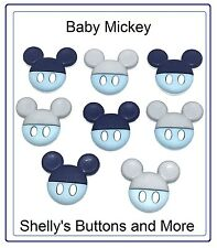 Jesse James Dress It Up Buttons - DISNEY BABY MICKEY EARS 9521  ~ Sew~ Crafts