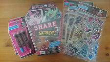 Monster High Share Or Scare Game with Extras GIFT BIRTHDAY TEEN BNIB GIRL Party