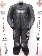 Arlen Ness 5908 Black One Piece race leathers with hump uk 42 euro 52