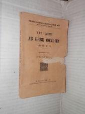 AB URBE CONDITA Libro XXII Tito Livio Ignazio Bassi Paravia 1926 classici greci