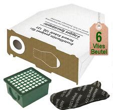 Vlies Staubbeutel + Filterset geeignet für Vorwerk Kobold 130 131