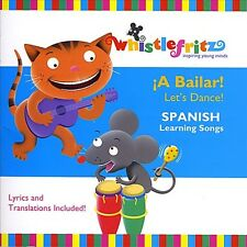 Whistlefritz: Jorge Anaya-?A Bailar! Let's Dance! (Spanish learning songs CD NEW