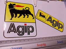 agip adesivi adhesives stickers decal