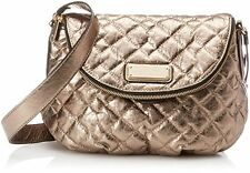 Marc by Marc Jacobs New Q Quilted Natasha Cross Body Bag, Gold or Silv, One Size