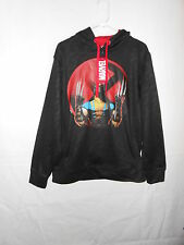 New Mens Marvel Comics Wolverine hoodie black pullover sweatshirt medium new NWT