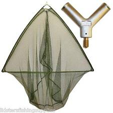 "42"" Inch Carp  Fishing Landing Net With Metal Block Large Net Head NGT TACKLE"