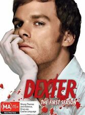 DVD DEXTER THE COMPLETE FIRST  SEASON 4 DISCS LIKE NEW FAST POST REGION 4