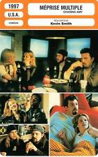 FICHE CINEMA : MEPRISE MULTIPLE - Affleck,Adams,Damon,Smith 1997 Chasing Amy