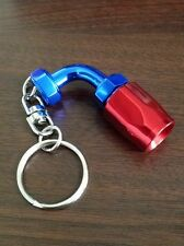alloy turbo fitting hose end LED light 4an 6an 8an 10an 12an keychain key ring