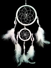 Handmade Dream Catcher with feathers wall or car hanging ornament-2WH