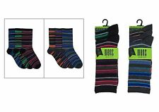 12 PAIRS MENS FASHION SOCKS UK SIZE 7-11  (81439)
