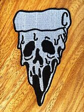 New Pizza Zombie Logo Symbol Jacket T-shirt Patch Sew Iron on Embroidered