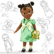 New Disney Store Tiana Animators Collection doll 38cm tall Age 3+