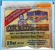 Great Northern Theatre Movie Gourmet Butter Popcorn 2.5 oz Portion Packs (24)