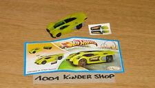 KINDER FT TR125 TR 125 HOT WHEELS + BPZ + STICKERS