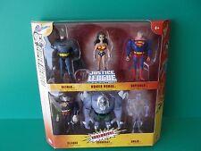 """DC  SUPER HEROES 6 FIGURE SET BATMAN, SUPERMAN,DOOMSDAY EXCLUSIVE 5""""IN"""