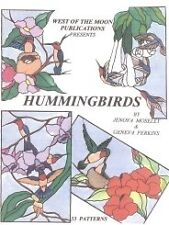 Stained Glass Pattern Book - HUMMINGBIRDS (FREE SHIPPING)