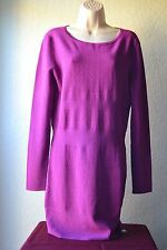 Armani Exchange 100% Authentic Purple Sweater Dress Women Size XL/TG MSRP $128
