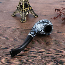 Fashion Marbling pattern Tobacco Cigarette Cigar Pipes Smoking Pipe Durable Gift