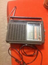 Vintage GE General Electric Television Audio Portable Radio Model P4930A Tested