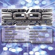 Party Time 2002 Various Artists MUSIC CD