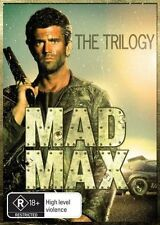 MAD MAX Trilogy: Mad Max, Mad Max 2 & Mad Max Beyond the Thunderdome DVD NEW