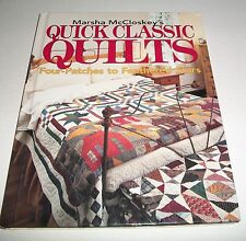 Quick Classic Quilts Four-Patches Feathered Stars PATTERN BOOK HARDCOVER
