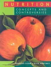 Nutrition: Concepts and Controversies (Available Titles CengageNOW) Sizer, Fran