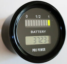 36 Volt LED Battery Indicator w/ LCD Volt Display Works On New Type Batteries MR
