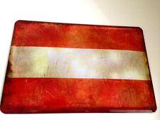 Österreich Austria Fahne Flagge Flag Blechschild Schild Tin Sign 20 x 30 cm