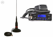 CB STARTER KIT TTI 550 CB RADIO CB MAGNETIC ANTENNA SIRIO ML145MAG 1450mm