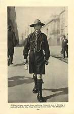 1920 England Chelsea Pensioners Boy Scout Fetching A Bottle Of Milk