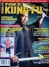 RARE 8/95 INSIDE KUNG FU GERALD OKAMURA YIP MAN BLACK BELT KARATE MARTIAL ART
