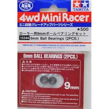 Tamiya 15344 1/32 JR Mini 4WD/Pro Tune-Up Parts 9mm Ball Bearing (2pcs) Set