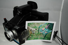 Polaroid Super Shooter instant land camera, fp100c , variable focus! AA
