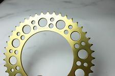 Renthal Rear Sprocket Honda 08 to 16 sc59 CBR1000RR Fireblade 411 520 45 GOLD