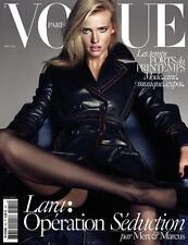 VOGUE Paris March 2015 LARA STONE Amanda Welsh HANA JIRICKOVA Romee Strijd @NEW@