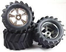 YOKO Moster truck tires, set of 4 (chrome)
