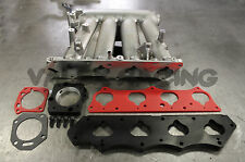K20 to H22 Clipped RBC Intake Manifold & Skunk2 Intake and TB Adapter Plates