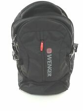 New Wenger 'Transit'  Laptop Backpack Black/Gray Wenger Logo - New W/O Tags