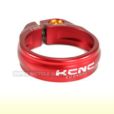 KCNC SC9  Seat Post Clamp 7075 Alloy , 38.2mm , Red