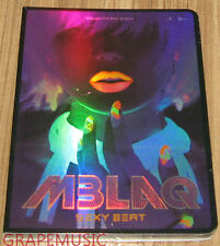 MBLAQ M-BLAQ Sexy Beat 5TH MINI ALBUM Smoky Girl K-POP CD + PHOTOCARD + POSTER