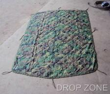 US Army Military Camouflage Camo Wet Weather Poncho Liner