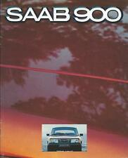 Saab 900 Range UK Market Brochure 1979 includes EMS GLE GLs Turbo 40 Pages