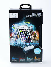 LifeProof FRE Water Dust Proof Hard Case for iPhone 6 iPhone 6s (White/Gray) NEW