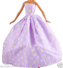 Hot Handwork soft wedding Party Dress/Evening Clothes/Gown For Barbie Doll  119