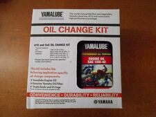 Yamaha ATV UTV Oil Change Kit Yamalube Grizzly Kodiak YXZ LUB-ATVCG-KT-01 OEM