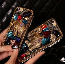 Retro elephant Rhinestone Crystal Case cover for Apple iphone7 4.7' S1180