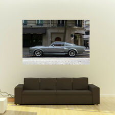 Poster of Ford GT500 Eleanor Mustang Giant HD Huge 54x36 Inch Print 137x91 cm